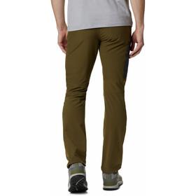 Columbia Triple Canyon Pantalones Hombre, Oliva